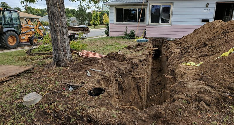 Sewer Line Replacement Denver 2