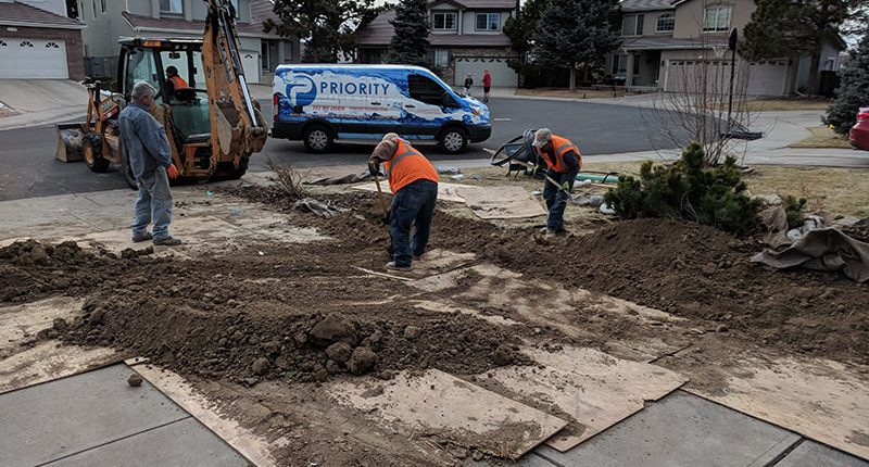 Sewer Line Replacement Denver